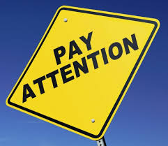 The 5th Simple Key – Pay Attention